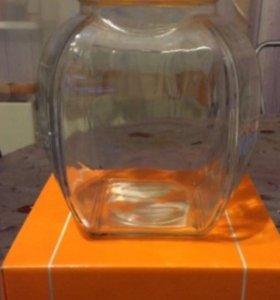 Новая стеклянная емкость Текси Цептер VacSy