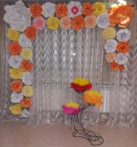 Фотозона.цветы.прокат