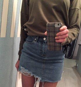Новая джинсовая юбка Asos оригинал