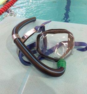 Трубка и маска для плавания