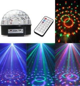 Диско шар светодиодный - Led Magic Ball Light