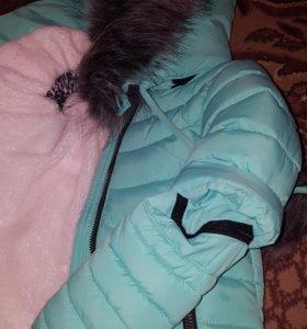 Куртка зимняя .