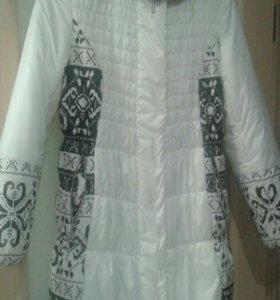 Куртка зимняя для беременных 46