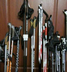 Лыжные беговые палки 120- 170 см.