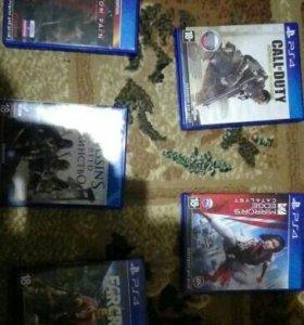 диски PlayStation 4