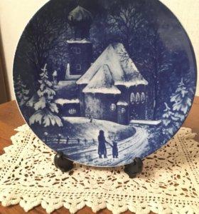 Декоративная тарелка. Германия. 1976 год