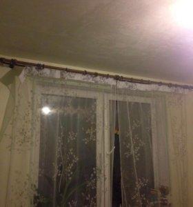 Гардина со шторами
