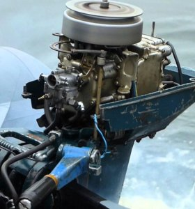 лодочный мотор Москва10М