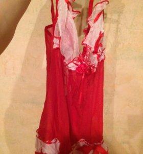 Сорочка пеньюар эротическое белье