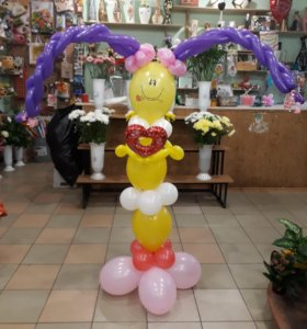 Композиции из клоунов на заказ