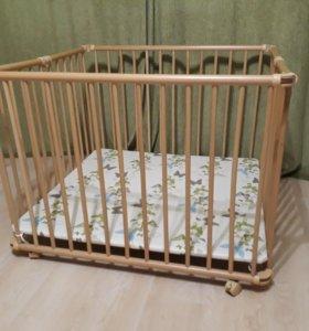Манеж-кровать geuther