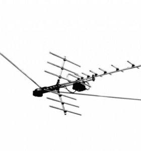 Установка, настройка- TV антенн (эфирных)