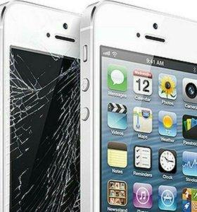 Замена дисплеев, аккумуляторов на Iphone