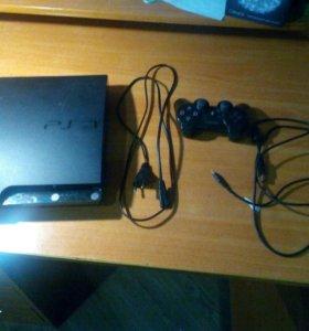 Приставка PS3 + дополнительные вещи.
