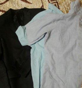 отдам пиджак и рубашки