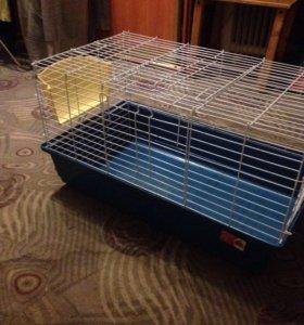 Клетка для декоративных кроликов и свинок