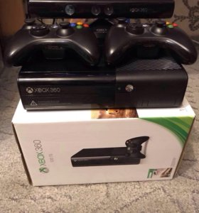Xbox 360 500гб+2гейм+кинект +8игр