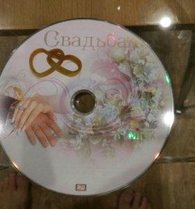 DVD диск болванка для записи