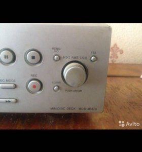 Мини-диск плеер , рекордер Sony MDS JE470