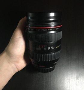 Canon 24-70 mm 2.8 L