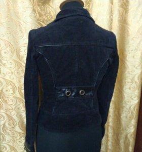 Вельветовый куртка-пиджак 40-42