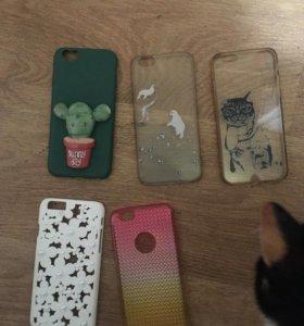 Чехлы на iPhone 6, обмен на чехлы от 5/5s/se