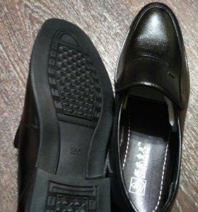 Ботинки 43 р. мужские нат.кожа