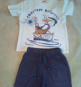 Комплект Пеликан майка+шорты