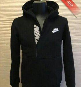 Толстовка утепленная мужская Nike Баталы