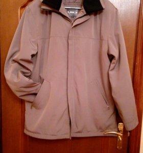 Мужская куртка с подстежкой (две в одной), 52 раз.
