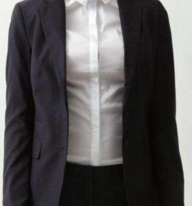 Жакет женский б/у, размер 48 (XL)