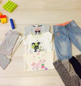 Фирменная одежда для девочки 86 см-98 см