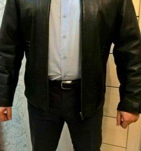 Кожаная куртка 50-52