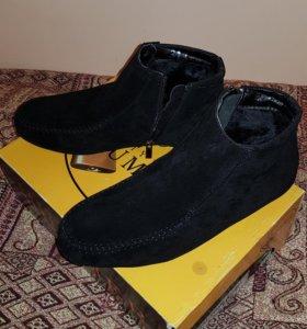 Зимнии ботинки !