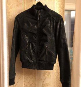 Куртка кожа с подкладкой 40-42