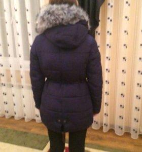 """Куртка """"парка"""" зимняя, новая в отличном состоянии"""