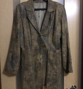 Куртка-пиджак из натур. кожи