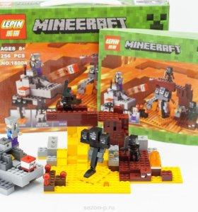 Новый Lego Minecraft Иссушитель 256 дет Lele