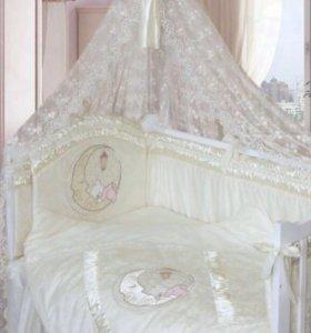 Комплект в кроватку 8 предметов