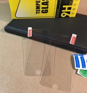 Защитные стекла для iPhone 5/5s/SE/6/6s/6plus/7