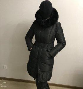 Пуховик зимний La Reine Blanche