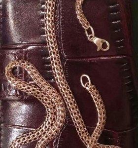 Золотая цепь 585 (плетение фараон)