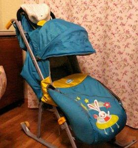 Санки-коляска Ника-4