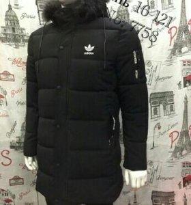 Куртка зимняя мужская Adidas Баталы