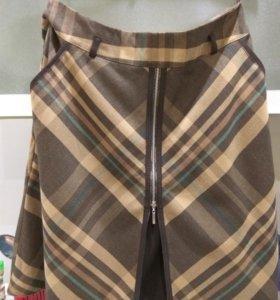 Продается новая теплая юбка-трапеция