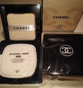 Пудра 2 в 1Chanel Cushion CC Cream Chanel