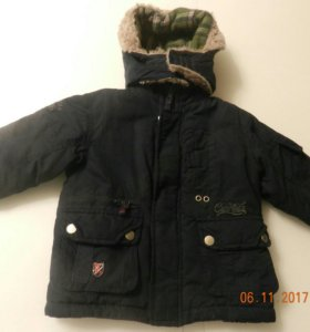 Куртка зимняя на мальчика.