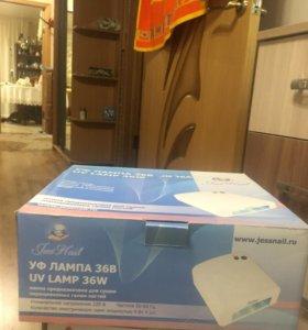Лампа для сушки геля на ногтях