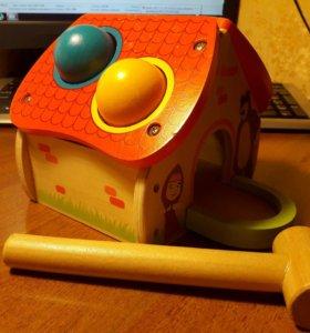 Развивающая игрушка- стучалка