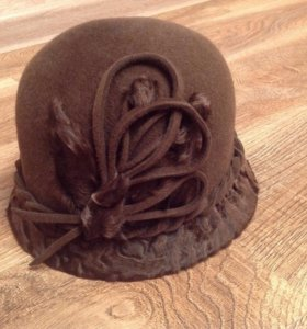 Шляпка в стиле ретро
